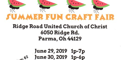 Summer Fun Craft Fair