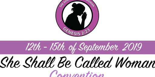 She Shall Be Called Woman 3 Day Conference