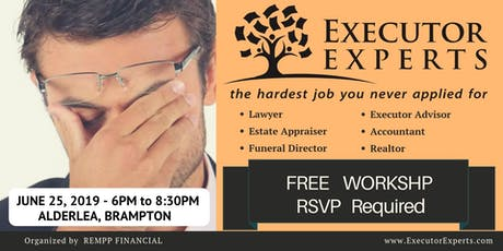 Executor: The Hardest Job You Never Applied For - FREE Workshop tickets
