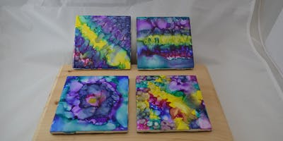 Working with Alcohol Inks