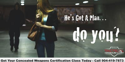 FLORIDA CONCEALED WEAPONS CERTIFICATION CLASS