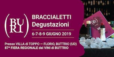 BRACCIALETTI Degustazioni - 87ª Fiera Regionale dei Vini di Buttrio