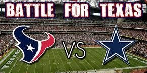 Dallas Cowboys vs Houston Texans Tailgate Party and Game