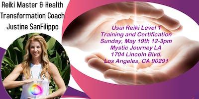 Usui Reiki Level 1 Training & Certification