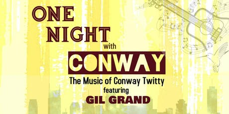One Night with Conway - Olds, Alberta tickets