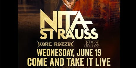 Edge of Destiny VIP Experience - June 19th opening for Nita Strauss tickets