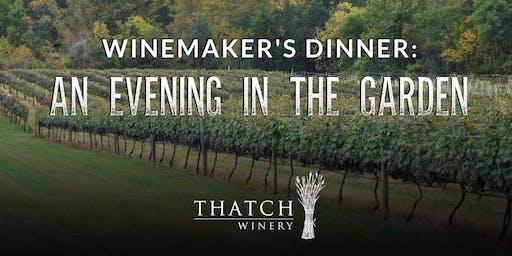 Winemaker's Dinner: An Evening In The Garden