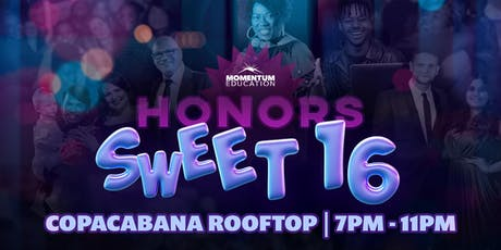 Momentum Education's Sweet 16, 2019 tickets
