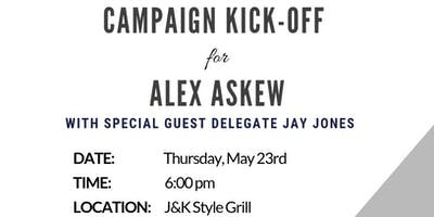 Askew for Delegate - Campaign Kick-off