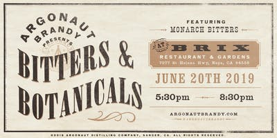 Argonaut Brandy presents: Bitters & Botanicals
