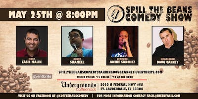 Spill the Beans Stand Up Comedy Show- Doug Canney