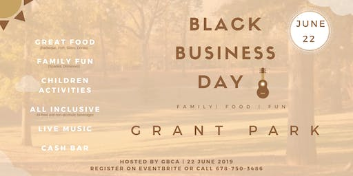 Black Business Day in the Park