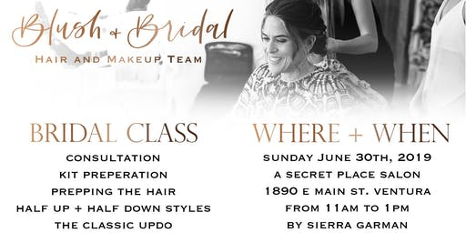 Bridal Updo Class