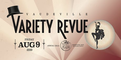 Vaudeville Variety Revue - Annual Gala and Fundraiser tickets