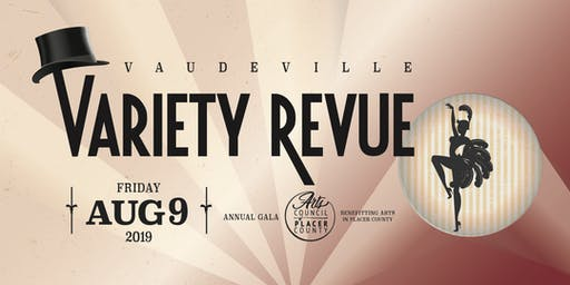 Vaudeville Variety Revue - Annual Gala and Fundraiser