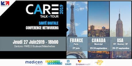 CARE 2019 : Innovation | Santé Numérique | USA - Canada billets