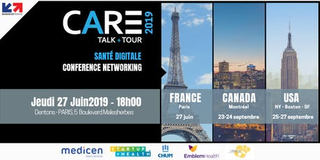 CARE 2019 : Innovation | Santé Numérique | USA - Canada tickets