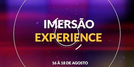 IMERSÃO EXPERIENCE - AD VILA ALZIRA ingressos