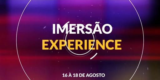 IMERSÃO EXPERIENCE - AD VILA ALZIRA