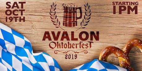 Avalon Oktoberfest 2019 tickets