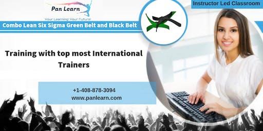 Combo Six Sigma Green Belt (LSSGB) and Black Belt (LSSBB) Classroom Training In Topeka, KS