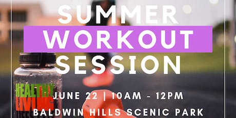BPRS-LA Summer Workout Session  tickets