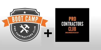 PRO CONTRACTORS CLUB WORKSHOPS