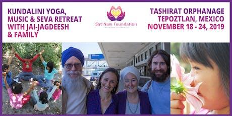 Tashirat - Seva Retreat w/Jai-Jagdeesh, Ravi Inder, Avtar & Sat Kartar entradas