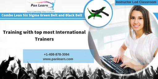 Combo Six Sigma Green Belt (LSSGB) and Black Belt (LSSBB) Classroom Training In Pierre, SD