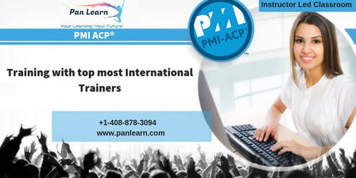 PMI-ACP (PMI Agile Certified Practitioner) Classroom Training In Pierre, SD