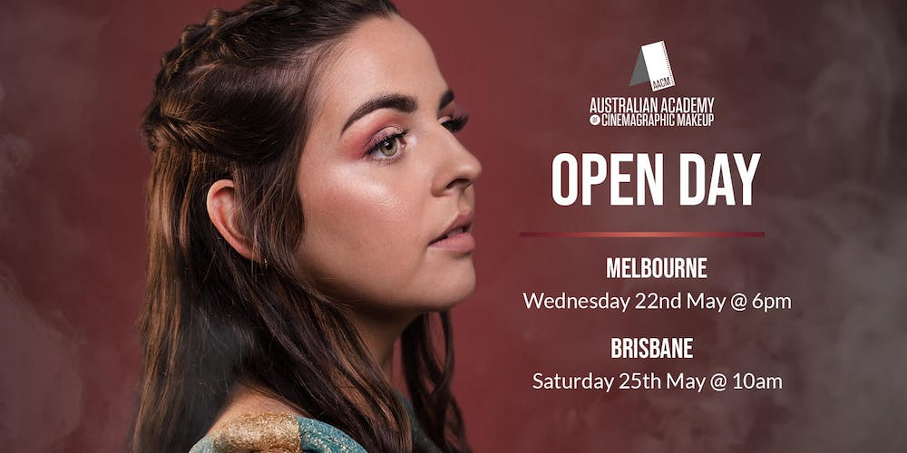The Australian Academy of Cinemagraphic Makeup Melbourne Campus Open Day Tickets, Wed 22/05/2019 at 6:00 pm | Eventbrite