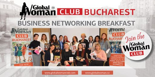 GLOBAL WOMAN CLUB BUCHAREST: BUSINESS NETWORKING BREAKFAST - SEPTEMBER