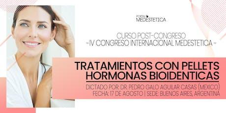 Curso de Tratamientos con Pellets - Hormonas Bioidénticas entradas