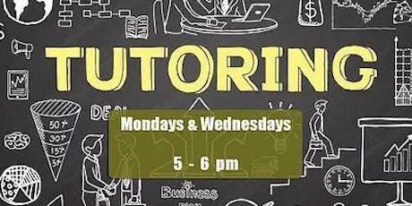 Free Tutoring and Homework Help tickets