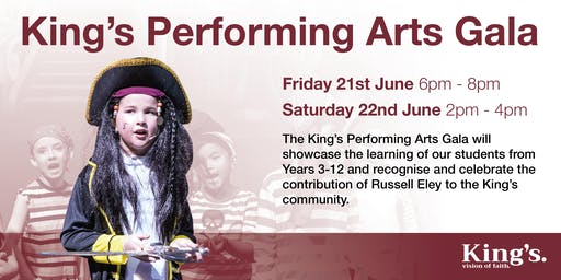 King's Performing Arts Gala