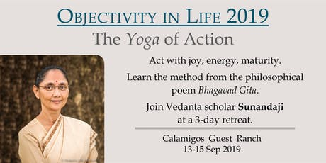 Objectivity in Life 2019: Yoga of Action tickets