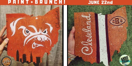 Browns Ohio Paint + Brunch at Two Bucks! [Middleburg] tickets