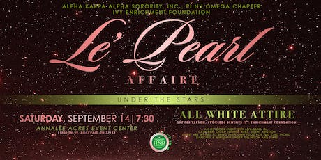 Le' Pearl Affaire - Under the Stars tickets