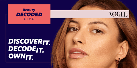 Beauty Decoded Live - An Allergan event in partnership with Vogue Australia tickets