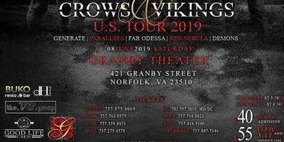 Crows and Vikings Tour