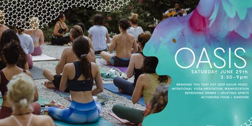 OASIS Garden Party: Yoga, Meditation, Music, & Dance Party