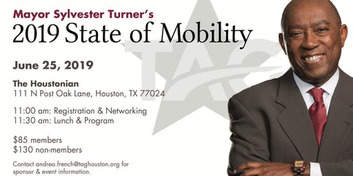 Mayor Turner 2019 State of Mobility