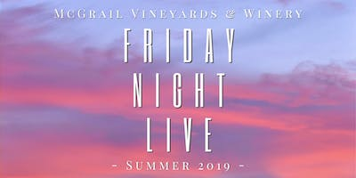 Friday Night Live with Rock on Tap & Posada Catering