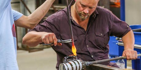 Glassblowing at the Glass Academy hot shop in Dearborn tickets