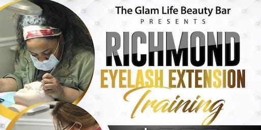 Richmond Eyelash Extension Training
