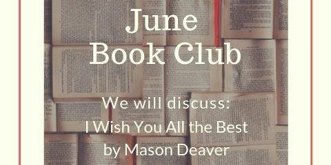 CASA Book Club: I wish you all the best