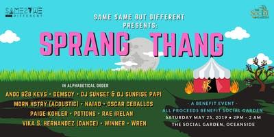 SSBD Fest Presents: Sprang Thang