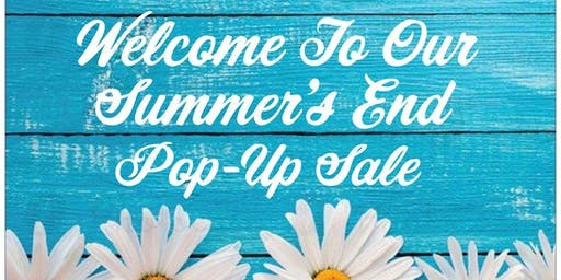 Summer's End Pop-Up Sale