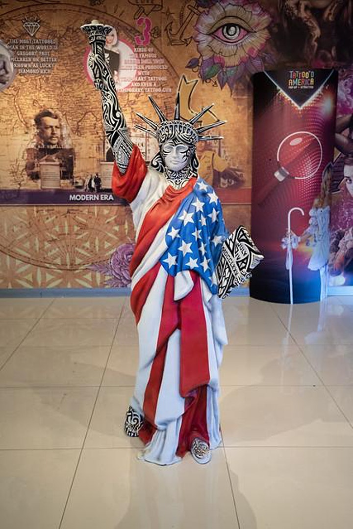 Tattoo'd America: Pop-up Attraction at the Linq Promenade image