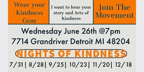Nights Of Kindness  tickets